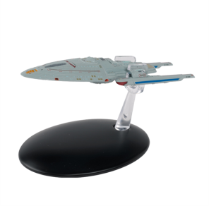 The Eaglemoss Concept Design of the USS Voyager by Rick Sternbach.
